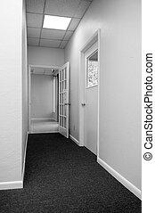 corridoio, ufficio