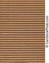 corrugato, serie, cartone, -, struttura