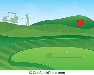 corso, buco, golf