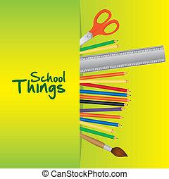 cose, scuola