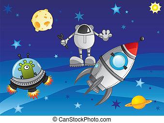 cosmo, avventura