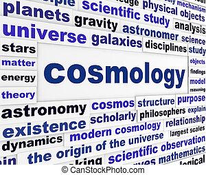 cosmologia, messaggio, scientifico
