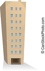 costruzione, appartamenti
