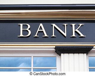 costruzione, banca