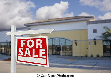costruzione, beni immobili, vacante, segno vendita, vendita dettaglio