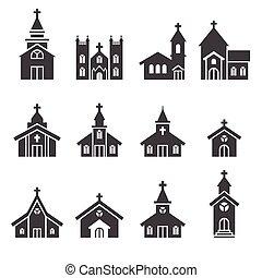 costruzione, chiesa, icona