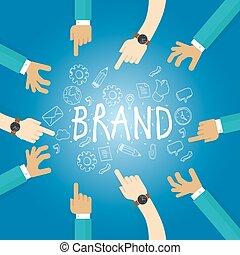 costruzione, nome, affari, marcare caldo, marca, lavoro, costruire, squadra, marketing, ditta