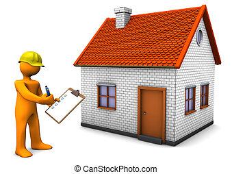 costruzione, regolazioni