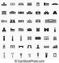 costruzione, simboli