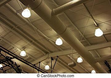 costruzione, soffitto, sport