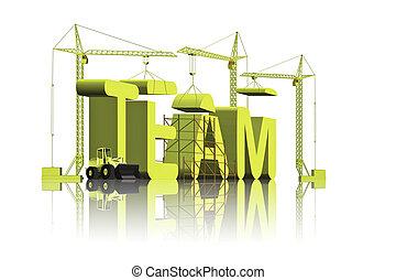 costruzione, squadra