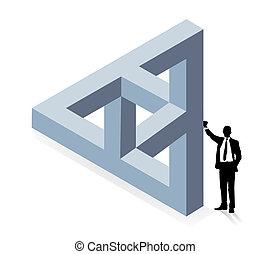 costruzione, tridimensionale