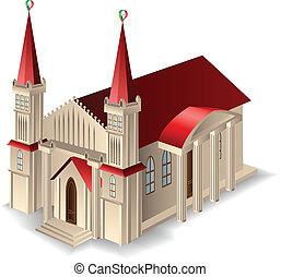 costruzione, vecchia chiesa
