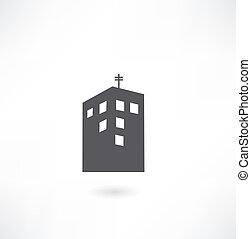 costruzione, vettore, simbolo
