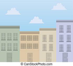 costruzioni, appartamenti