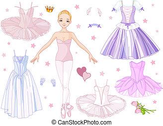 costumi, ballerina