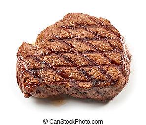 cotto ferri, bistecca, manzo
