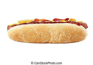 cotto ferri, panino, hotdog