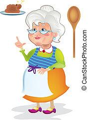 cottura, nonna