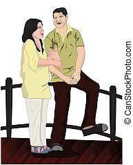 couples, ponte