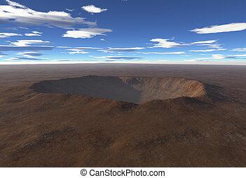 cratere impatto