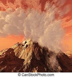 cratere vulcanico