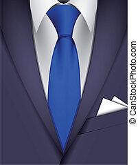 cravatta, completo