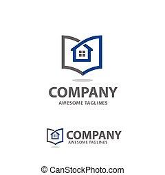 creativo, elenco, casa, vendita
