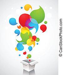 creativo, idee, regalo, natale