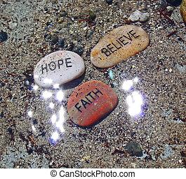 credere, fede, sunrays, speranza