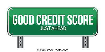 credito, buono, giusto, avanti, decine e decine