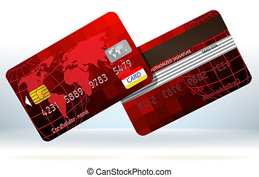 credito, eps, back., cartelle, fronte, 8, rosso