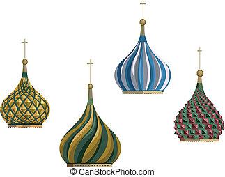 cremlino, cupole