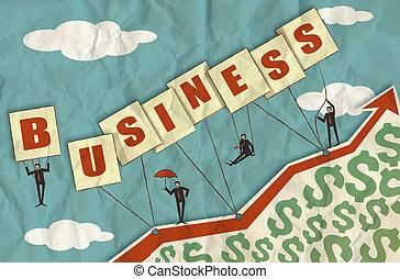 crescita, affari