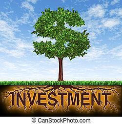 crescita, investimento finanziario