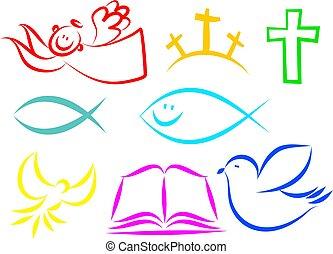 cristiano, icone