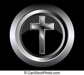 cristiano, santo, simbolo, croce