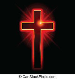 cristiano, simbolo, crocifisso