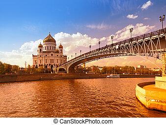 cristo, mosca, -, salvatore, cattedrale, russia
