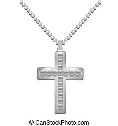 croce, argento