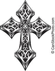 croce celtica, ornare