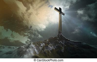 croce, collina