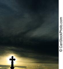 croce, silhouette