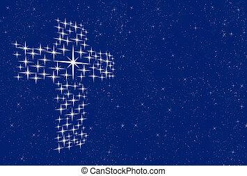 croce, stelle