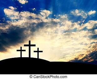 croci, cristiano, collina