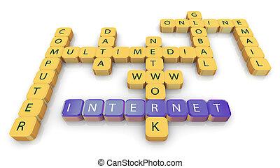 cruciverba, internet