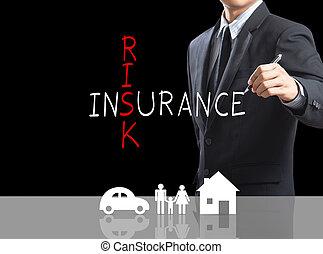 cruciverba, rischio, assicurazione