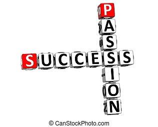 cruciverba, successo, 3d, passione