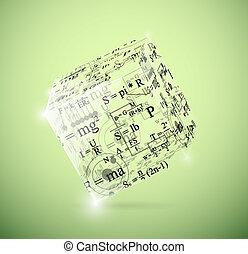 cubo, fisico
