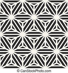 cubo, modello, linee, seamless, forma, vettore, striscia, geometrico